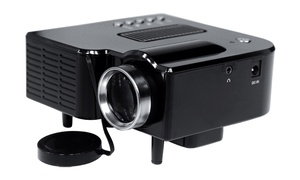 Mini Compact Gaming Projector With 1080p Support And Usb/sd Card Reader