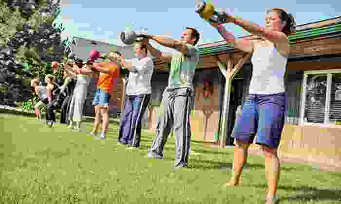 Punch Gym - Multiple Locations: C$65 for a Four-Week Power Cardio 30 Kettlebell Interval-Training Program at Punch Kettlebell Gym (C$309 Value)