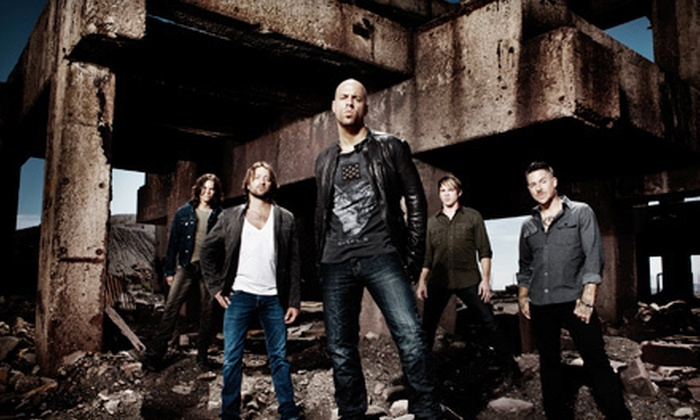 Daughtry - Tuscaloosa Amphitheater: Daughtry Concert at Tuscaloosa Amphitheater on Saturday, June 16 at 8 p.m. (Up to 51% Off). Three Seating Options Available.