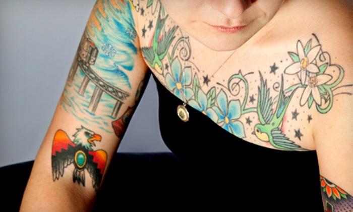Fuzion Ink Tattoo and Body Piercing Studio - Norfolk: Tattoo or Piercing at Fuzion Ink Tattoo and Body Piercing Studio (Up to 53% Off). Four Options Available.