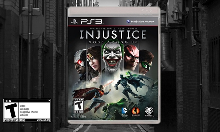 Injustice: Gods Among Us: Injustice: Gods Among Us for PS3