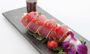 T&O Thai and Japanese Restaurant: Sushi and Thai Food for Two at T&O Thai and Japanese Restaurant (Up to 46% Off). Three Options Available.