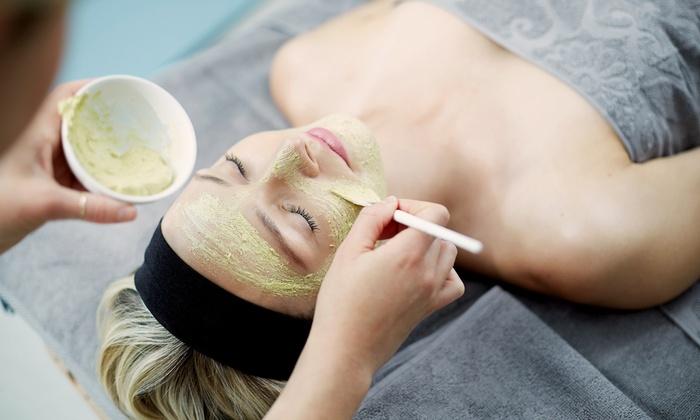 "Skin Care  "" Peau De Soie"" - Charleston Preservation: One or Three Deep-Cleansing or Rejuvenating Facials at Skin Care ""Peau De Soie"" (Up to 57% Off)"