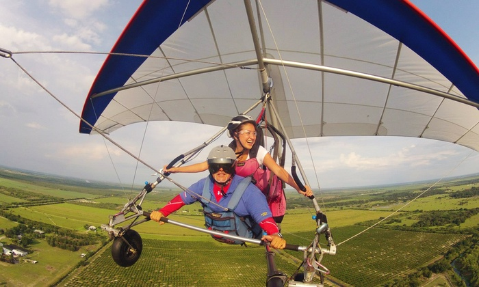 The Florida Ridge Sports Air Park - The Florida Ridge Sports Air Park: $98 for Tandem Discovery Hang-Gliding Flight from Tampa Hang Gliding ($179 Value)