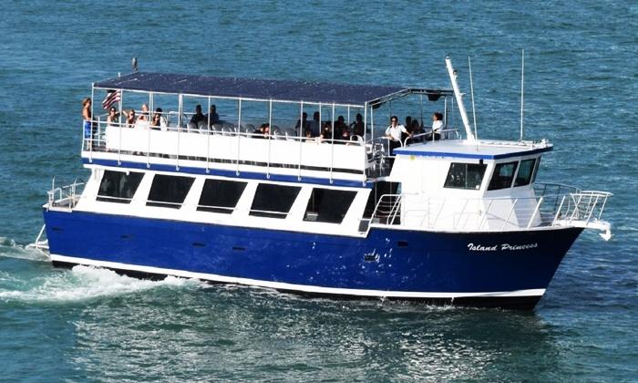 Miami Aqua Tours - Bayside: Sightseeing Boat Tours for One from Miami Aqua Tours (33% Off)
