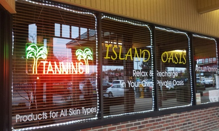 Up to 57% Off Tanning, Skin & Wrap Treatments at Island Oasis Tanning and Airbrush Studio