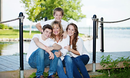$39 for Family Photo Shoot and Prints from The Little Black Booth ($365 Value)