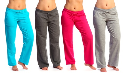 Lolo Lime Women's French Terry Lounge Pants