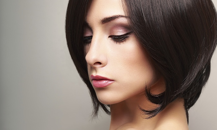 Aesthetic Beauty Salon - Aesthetic Beauty Salon: A Women's Haircut with Deep Conditioning and Style from Aesthetic Beauty Salon (50% Off)