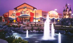 Family Fun Centers & Bullwinkle's Restaurant : $18 for Rides and Attractions at Family Fun Centers & Bullwinkle's Restaurant ($37.50 Value)
