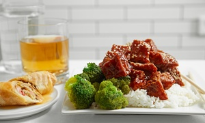 Jade Asian Bistro: Asian Meal with Cocktails for Two or Four at Jade Asian Bistro (Up to 55% Off)