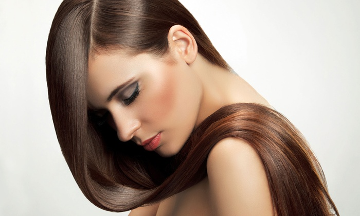 Gina Angeles at Salon L - Santa Cruz: Cut or Brazilian Blowout from Gina Angeles at Salon L (Up to 71% Off). Four Options Available.