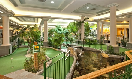 Two Rounds of Mini Golf for Two Adults or a Family of Five at Market Mall Mini Golf (50% Off)
