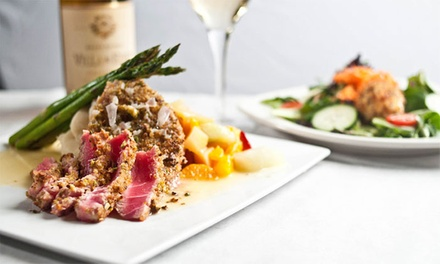 $25 for $40 Worth of Steaks and Seafood for Dinner at Passion the Restaurant