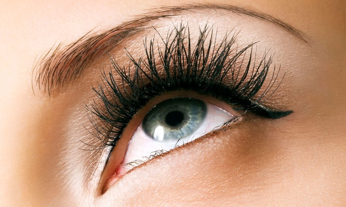 Steel Blue Healing Inc - Mission: Full Set of Eyelash Extensions with One or Two Optional Fills at Steel Blue Healing Inc (Up to 65% Off)