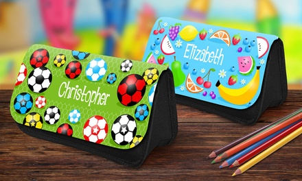 Personalised Kids' Pencil Case: One $15, Two $29, Three $43 or Four $57 Don't Pay Up to $99