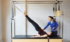 Humble Abode: Three or Five Private Pilates Sessions at Humble Abode (Up to 56% Off)