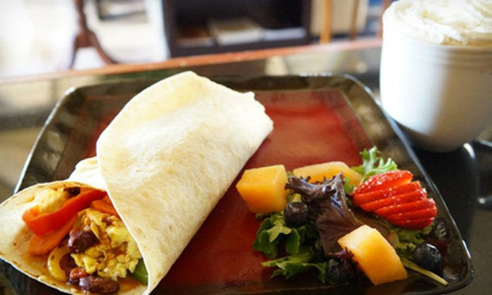 Headquarters Cafe - El Cerrito: Artisan Panini Sandwiches, Wraps, and Organic Coffee for One or Two at Headquarters Cafe (Half Off)