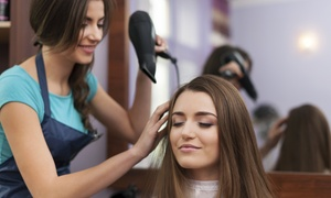 christina hairdresser salon: Cut, Blow-Dry and Conditioning or Choice of Colouring Service at Christina Hairdresser Salon (Up to 36% Off)