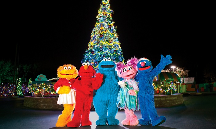 "Sesame Place - Sesame Place: $18 for ""A Very Furry Christmas"" Single-Day Admission for One at Sesame Place (Up to $31.03 Value)"