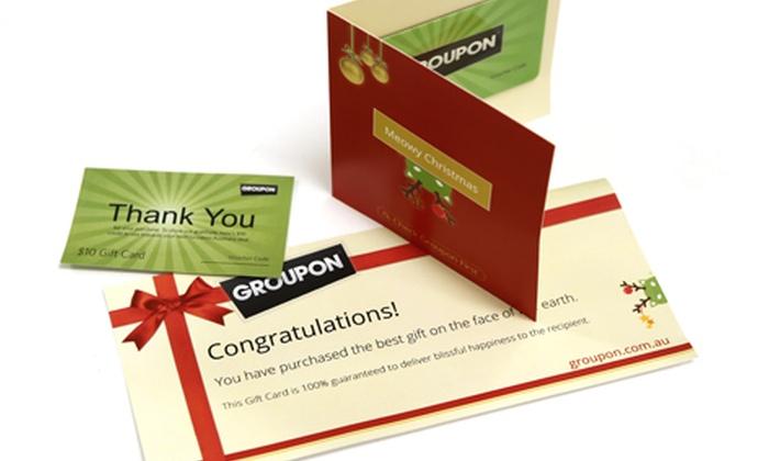 $50 Groupon Christmas Gift Card | Groupon Goods