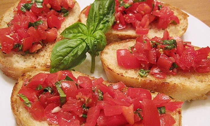 Piccolo Ristorante Italiano - Downtown Menlo Park: Four-Course Italian Dinner for Two at Piccolo Ristorante Italiano (Up to 33% Off)
