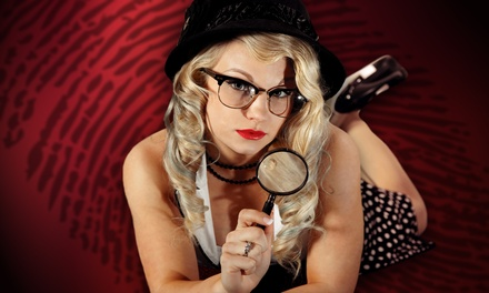 Murder-Mystery Dinner for One or Two at The Murder Mystery Co. (Up to 50% Off)