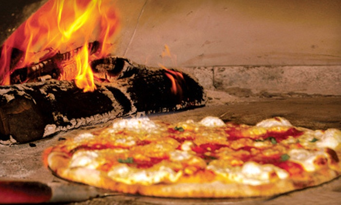 Sicilian Oven - Multiple Locations: $19 for Wood-Fired Pizza Meal for Two at Sicilian Oven in Aventura (Up to $38 Value)