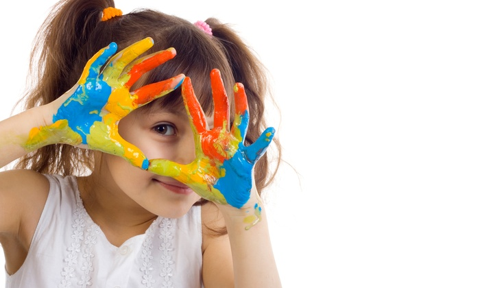 Global Art - Brush Strokes - Multiple Locations: One Week of Half- or Full-Day Kids' Art Camp at Global Art (50% Off)