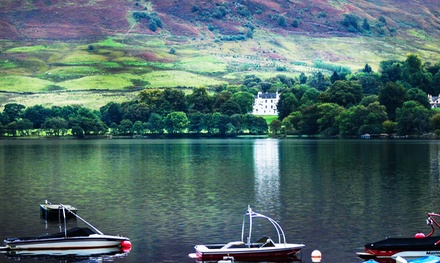Loch Earn: 1 or 2 Nights for Two with Full Scottish Breakfast at Clachan Cottage Hotel