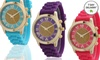 Women's Silicone Glitter Core Watch: Women's Silicone Glitter Core Watch. Multiple Colors Available. Free Returns.