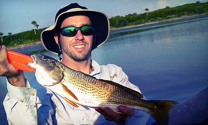 Action Kayak Adventures - St Augustine: Half-Day Fishing Trip for One or Two from Action Kayak Adventures (Half Off)