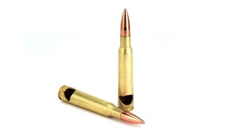 4 50-Caliber-Bullet Bottle Openers
