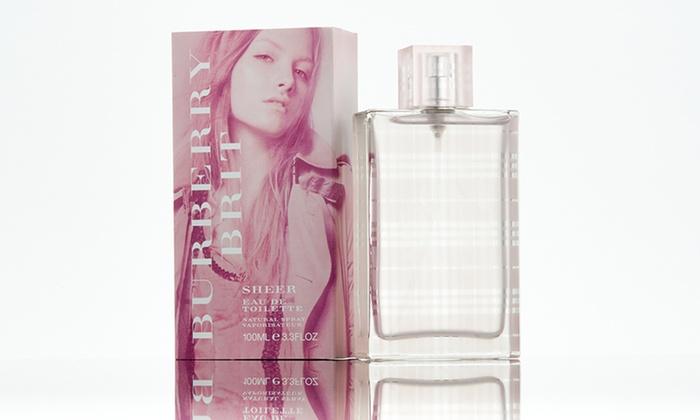 burberry brit eau de parfum spray p75z  Burberry Brit Sheer Eau de Toilette for Women