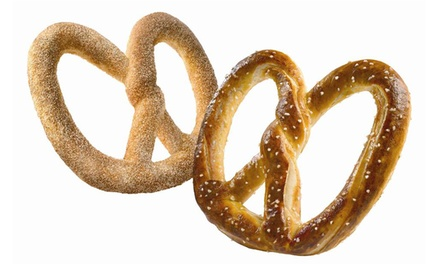 Field Trip with Pretzel-Rolling Lesson and Snacks for 10 or 20 at Auntie Anne's Seattle (50% Off)