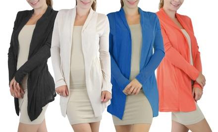 Women's Open-Front Cardigans