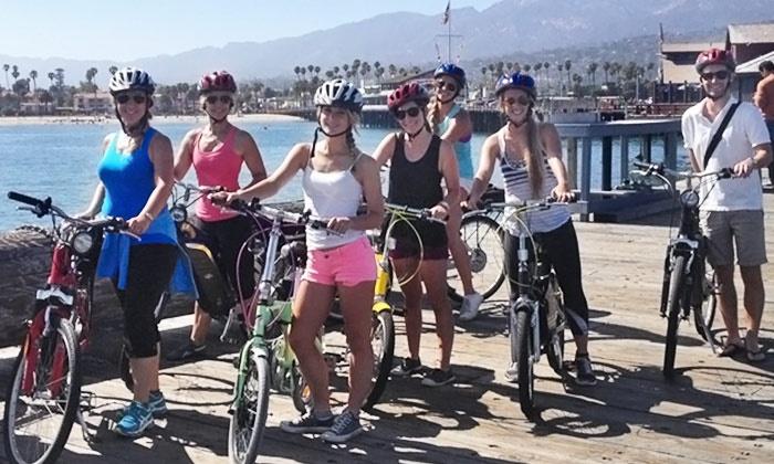 Santa Barbera E-Bikes - Oak Park: Two or Three Hours of Electric-Bike Rental for Two People from E-Bikes Santa Barbara (50% Off)