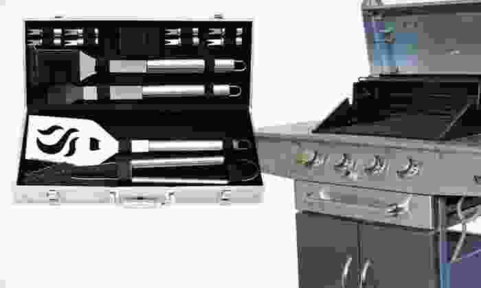 4- or 14-Piece Cuisinart Grilling Set: 4- or 14-Piece Cuisinart Grilling Set (Half Off). Free Shipping and Free Returns.