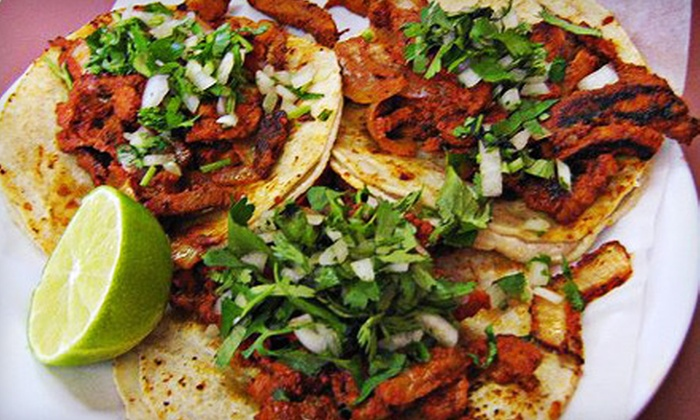 Taqueria la Fiesta - Pittsfield: Four Mexican Carryout Platters or $6 for $12 Worth of Mexican Food at Taqueria la Fiesta