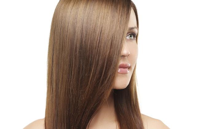 Mane Trendz - Austin: A Haircut and Straightening Treatment from Mane Trendz (55% Off)
