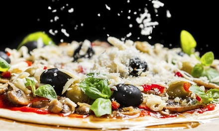 Brick-Oven Pizza for Lunch or Dinner at Randy's Wooster St. Pizza Shop (Up to 40% Off)
