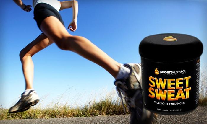 Sweet Sweat Workout Enhancer XL Jar: $25 for a Sweet Sweat XL Jar Workout Enhancer ($49.95 List Price). Free Shipping.