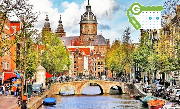 Ámsterdam : alojamiento con desayuno, acceso spa y fitness para 2, en el Corendon Vitality Hotel Amsterdam 4*