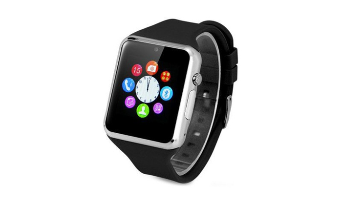 smartwatch compatible with iphone montre connect 233 e iphone android groupon 2572