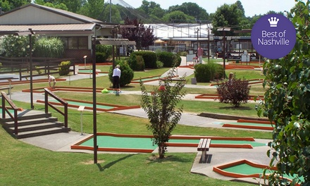 $19 for $40 Worth of Go-Karting, Mini Golf, and Other Family Activities at Cedar Creek Sports Center