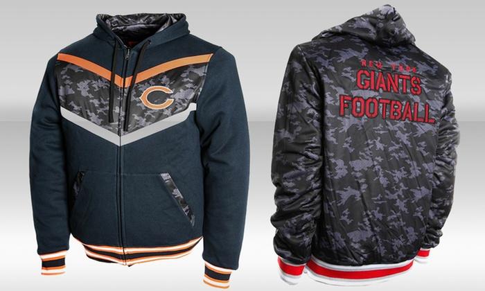innovative design a10ec 76e2f NFL Black Ops Reversible Hoodie | Groupon Goods
