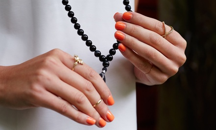 Shellac Manicure, Pedicure or Both at London Ladies Hair and Beauty Clinic (Up to 53% Off)