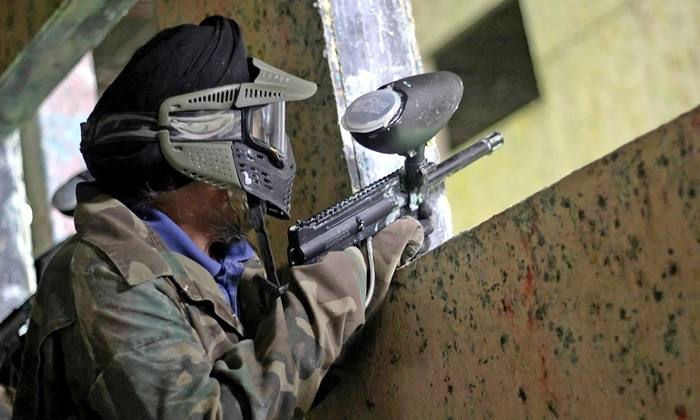Richmond Indoor Paintball - Richmond City Centre: Paintball Package for  2, or 4 with Gear and Paintballs at Richmond Indoor Paintball (Up to 56% Off)