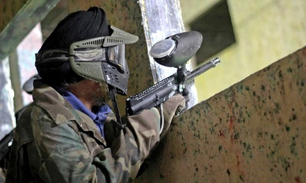 Paintball Package for  2, or 4 with Gear and Paintballs at Richmond Indoor Paintball (Up to 56% Off)