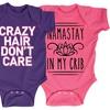 Infants' Humorous Cotton Bodysuit